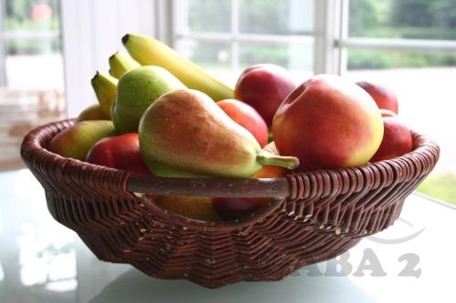 Kosz na owoce. Wiklina