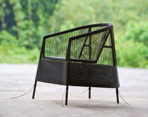 Cane-line wyplatanie fotela