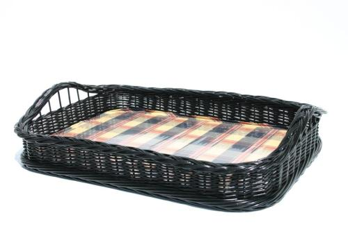 Boston taca wiklinowa. Wicker tray.