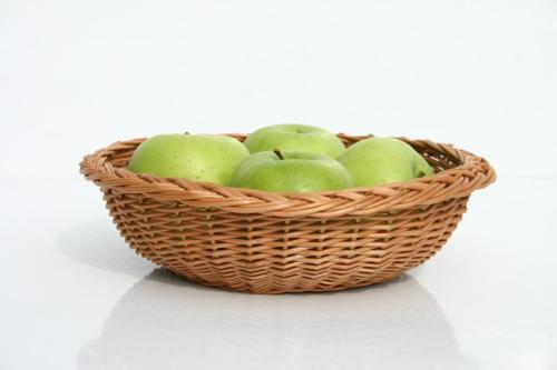 Polska wiklina i polskie jabłka