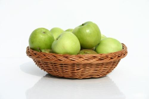 Polskie jabłka i polska wiklina