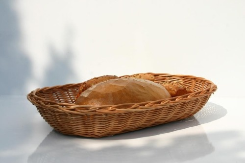 Tacka wiklinowa na pieczywo