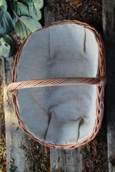 Kosz na drewno kominkowe CARL