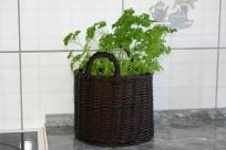 Wiklinowy koszyk na zioła. Wiklinowy Dom