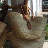 IBIZA torba wyplatana z liści palmy